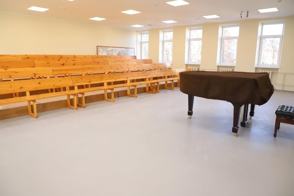 """""""Dagilėlio"""" dainavimo mokykla po remonto."""