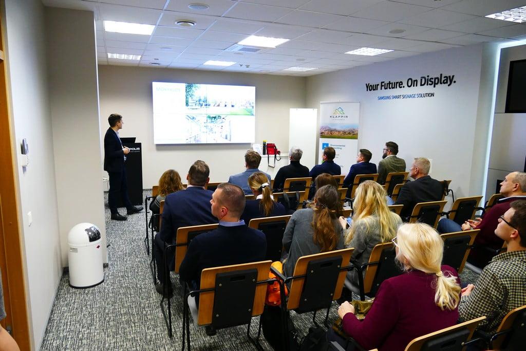 """Seminaras """"Inovatyvūs sprendimai tvariems pastatams""""."""