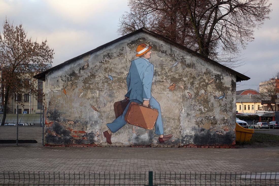 Ant Kauno sienų atsirado dar vienas meno kūrinys