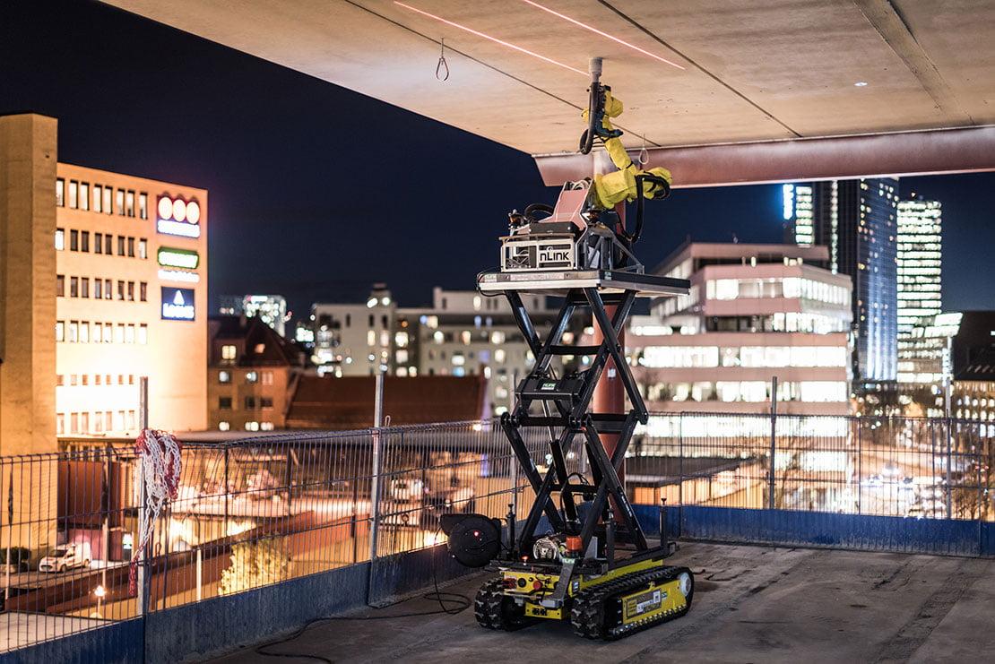statybų robotizacija