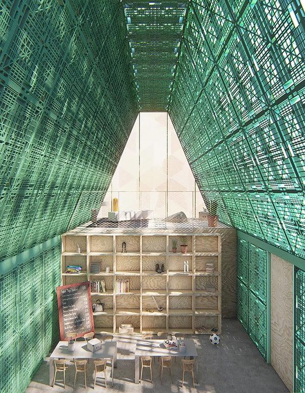 plastikas architektūroje