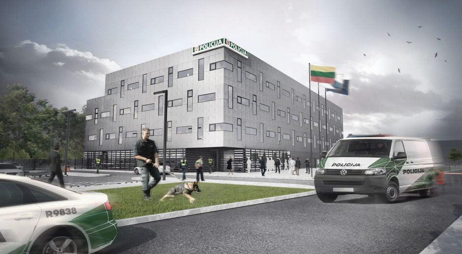 Kauno apskrities vyriausiojo policijos komisariato (VPK) pastatas