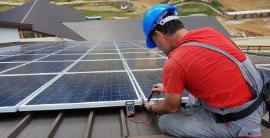 saulės elektrinės parama eso
