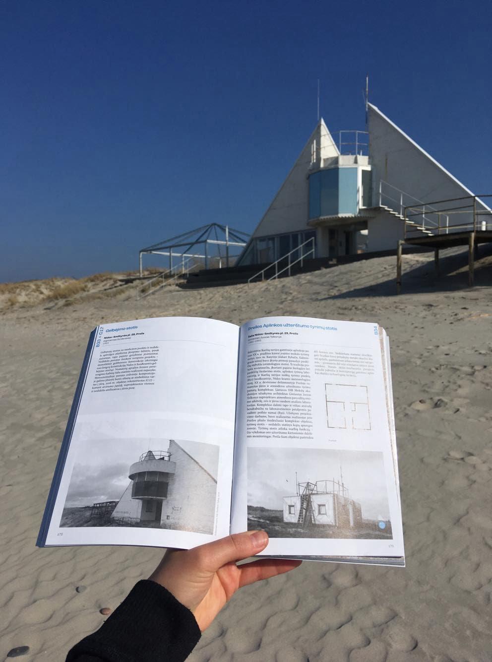Preilos gelbėjimo stotis ir Neringos architektūros gidas nuotr. Ana Luisa Monse