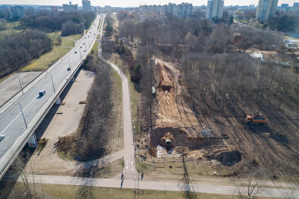 Vilniaus miesto lietaus nuotekų sistemos rekonstrukcija 1