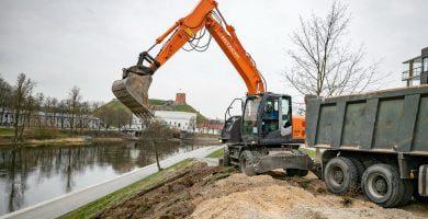 Karantinas atvėrė palankias sąlygas Vilniaus infrastruktūros tobulinimui