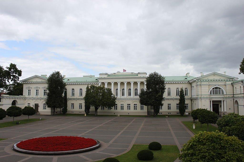 Prezidentūros pastatas Vilniuje.