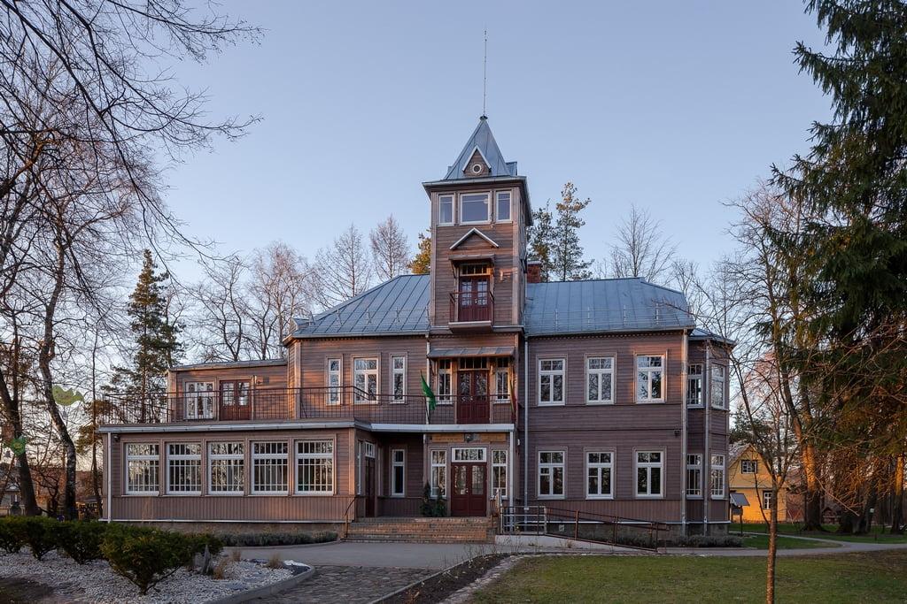 Česlovo Petraškevičiaus vila (Norbert Tukaj nuotr.)