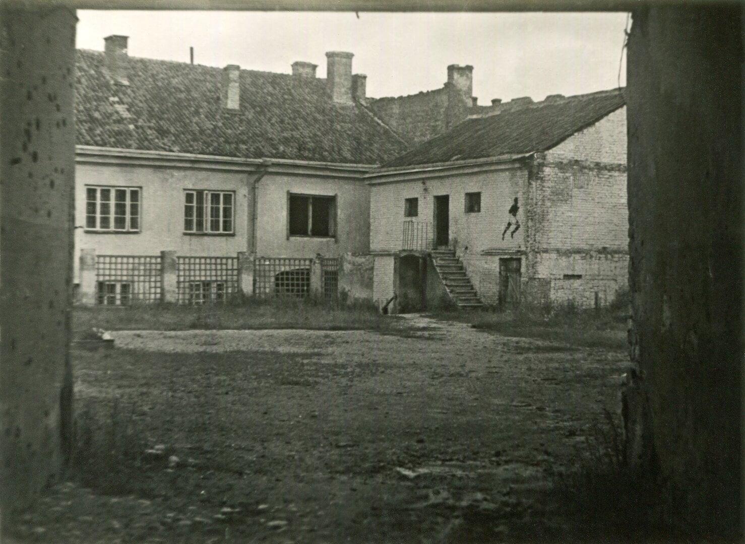 Vilniaus geto kalėjimas Lydos gatvėje. Yad Vašemo archyvo nuotrauka