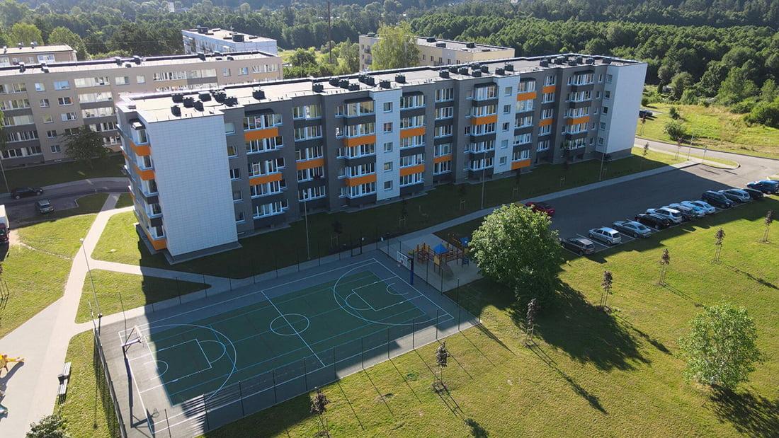 Metų renovacijos projektas Pabradėje (BETA nuotr.)