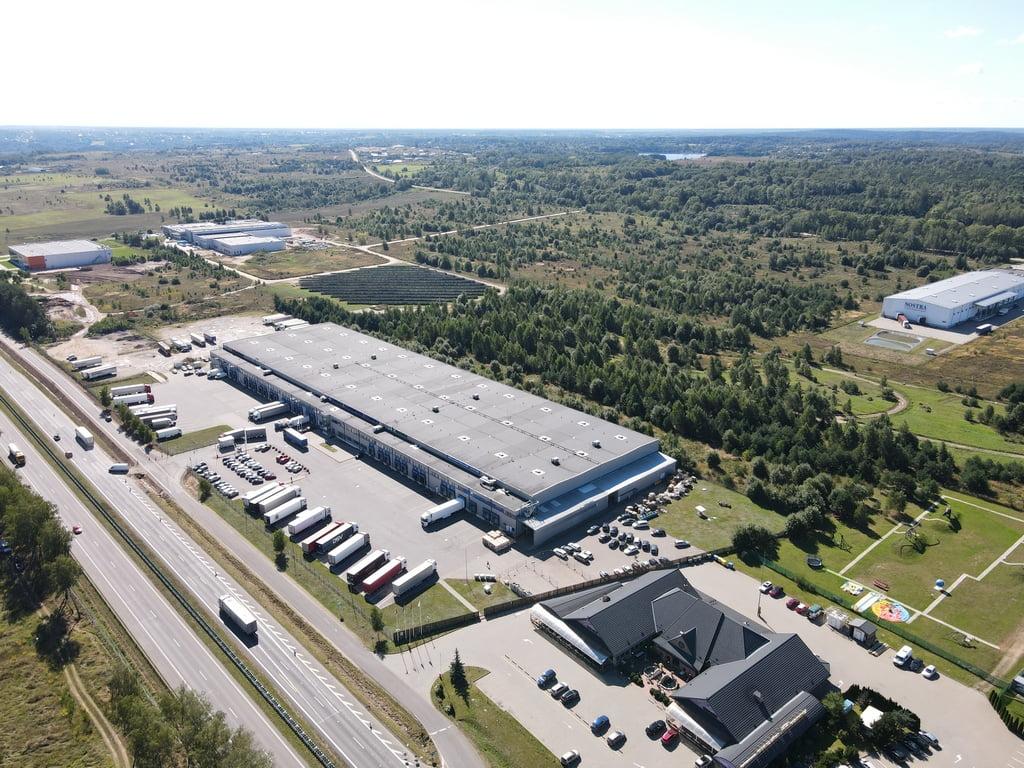 Logistikos ir biurų kompleksas 19 km nuo Vilniaus.