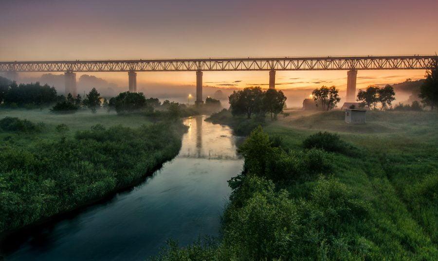 Lyduvėnų tiltas (Aurimo Pališkio nuotr.)