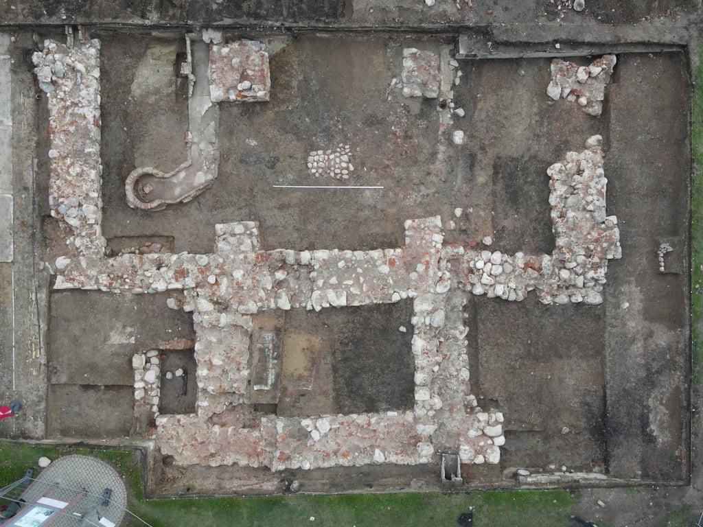 Bendras archeologinių tyrimų vaizdas. Raimondos Nabažaitės archyvo nuotr.