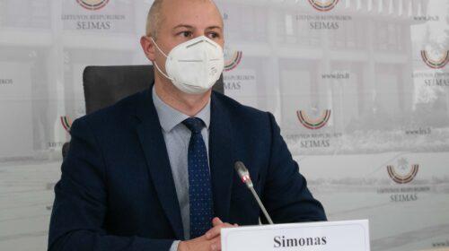 Simonas Gentvilas. Dainiaus Labučio (ELTA) nuotr.