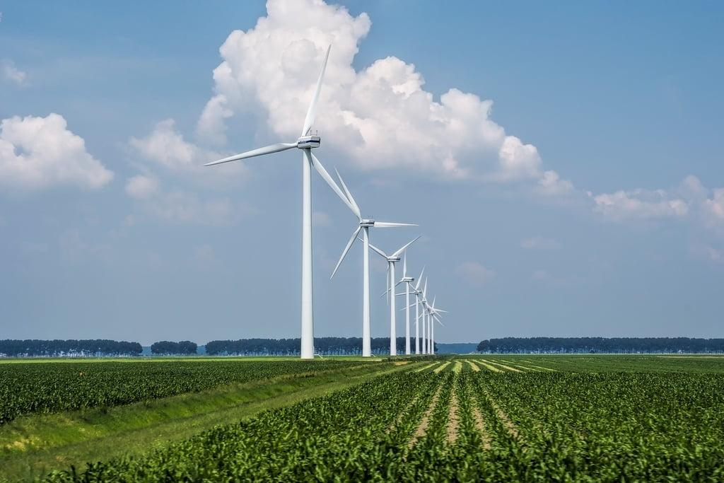enefit green vėjo jėgainės