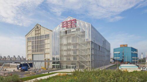"""FRAC Nord-Pas de Calais"" modernaus meno muziejus."