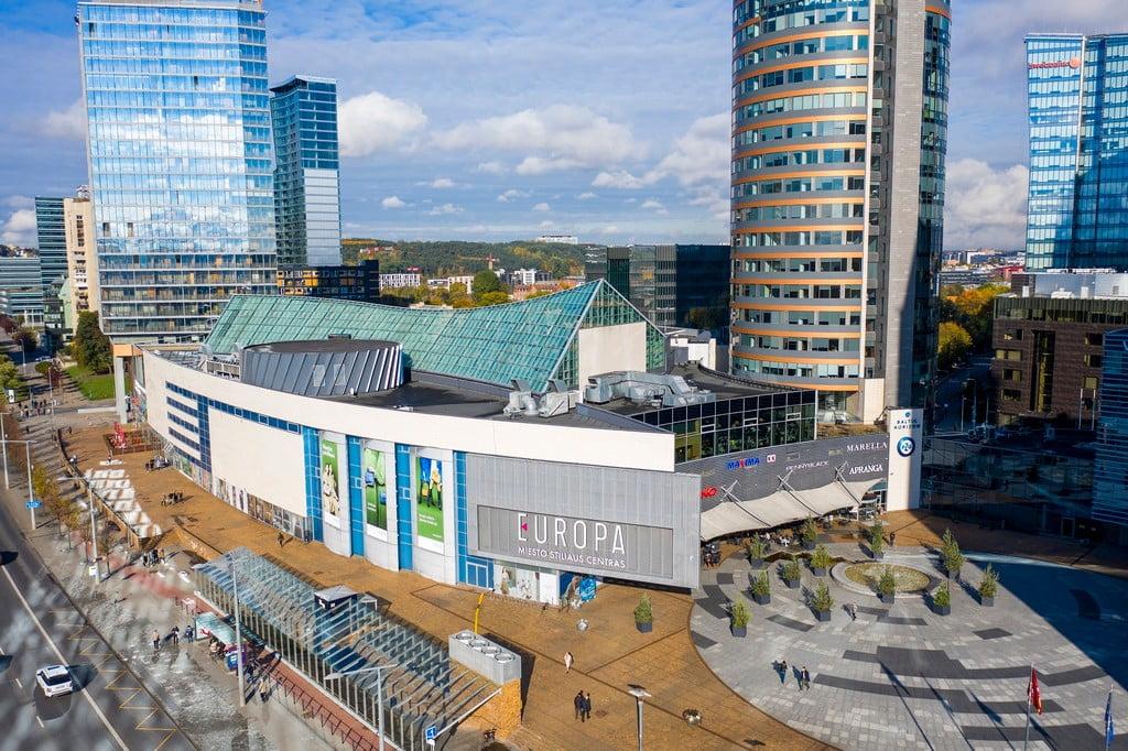 prekybos centras europa vilnius rekonstrukcija