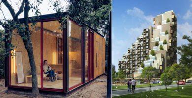 Moduliniai pastatai – nuo pabėgimo į gamtą namų iki daugiaaukščių