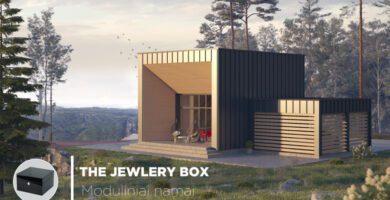 """Surenkami moduliniai namai: """"The Jewelry Box"""""""