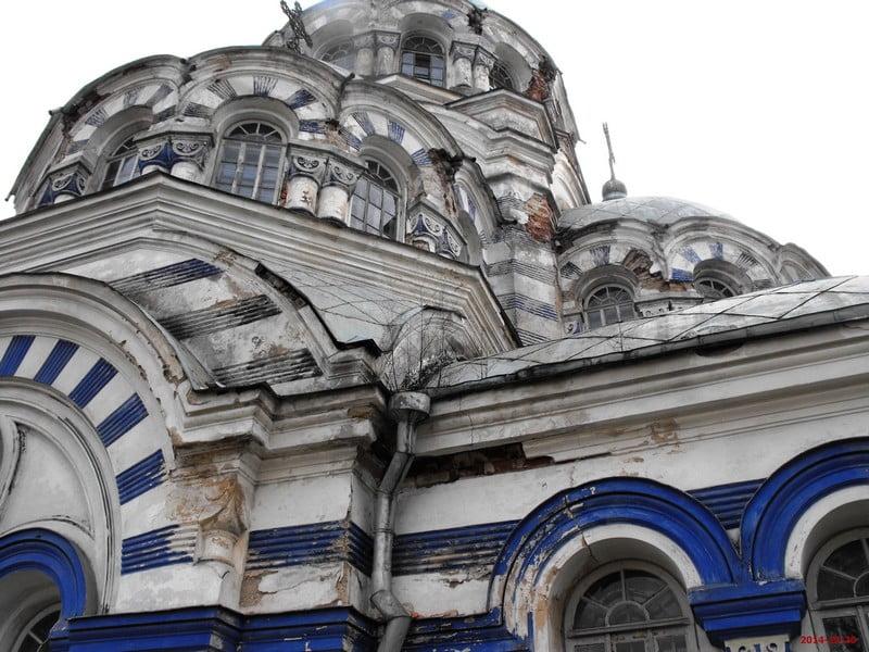 Švenčionių cerkvė 2014 m. prieš pradedant darbus1