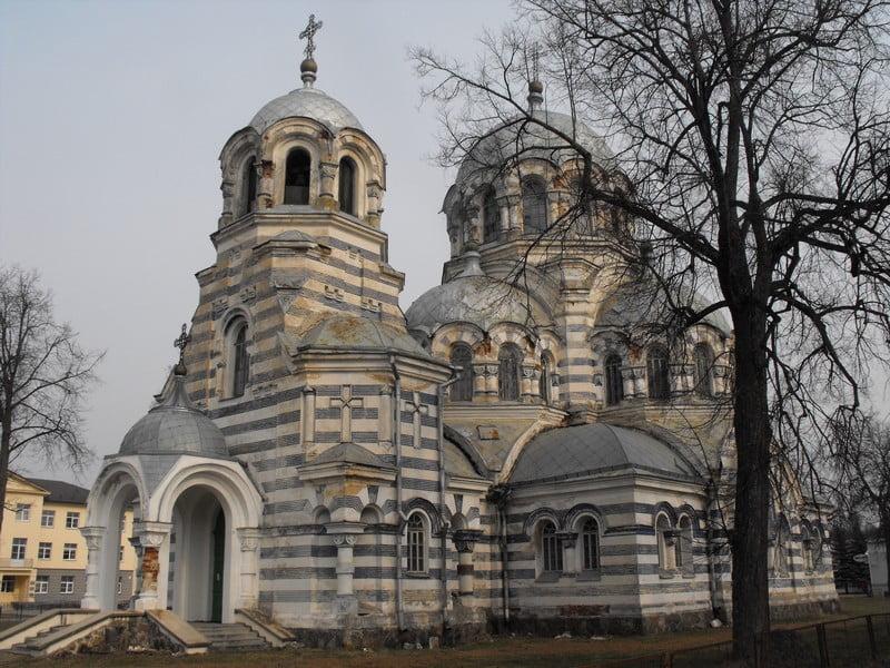 Švenčionių cerkvė 2014 m. prieš pradedant darbus