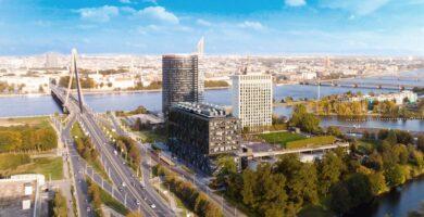 Statybos Latvijoje per metus pabrango beveik 9 proc.