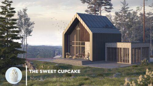sweet cupcake moduliniai namai 4