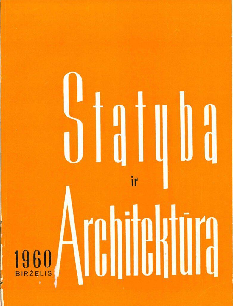 statyba ir architektura zurnalas seni numeriai