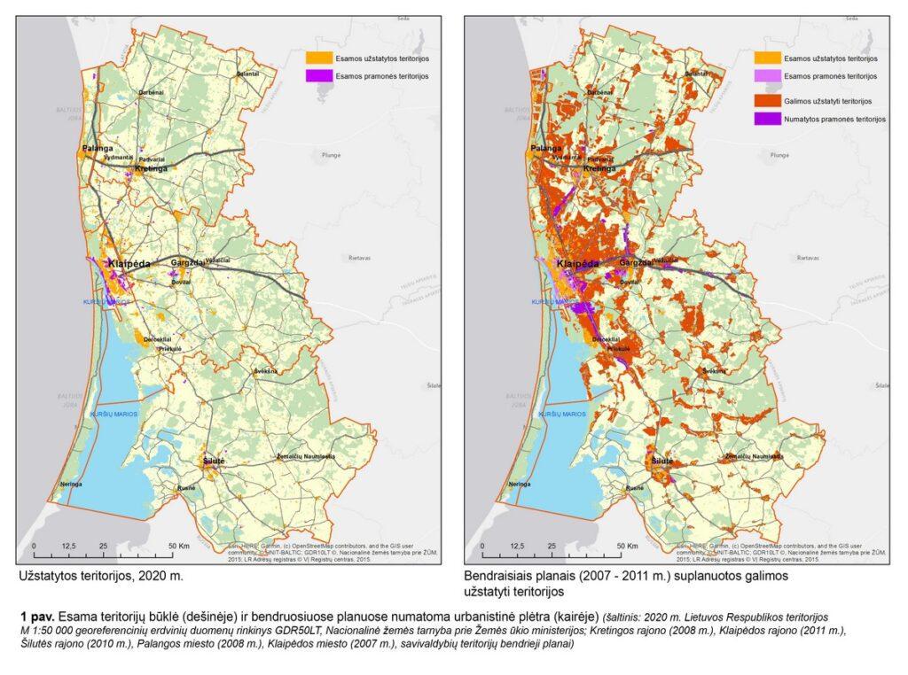 pajūrio urbanizacija