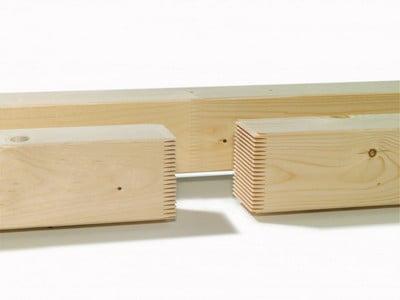 Dantytuoju dygiu sujungta statybinė mediena (angl. structural finger jointed solid timber)