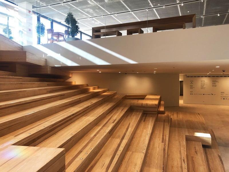 mediniai laiptai odunpazari