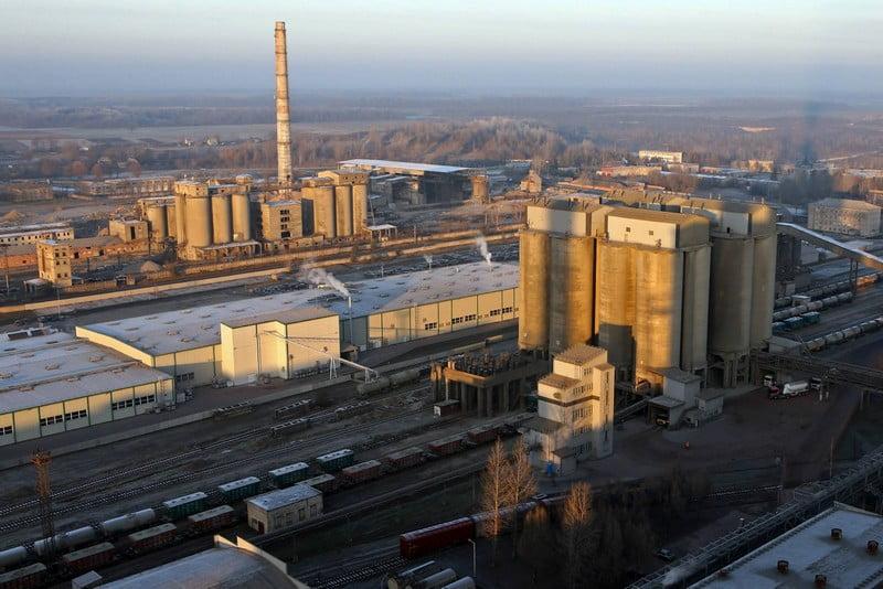 akmenes cementas gamykla