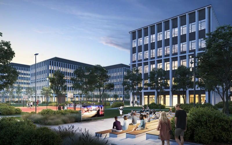 business garden vilnius do architects
