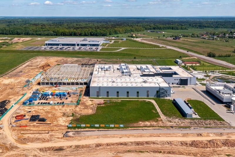 continental gamykla kaune naujas pastatas merko statyba