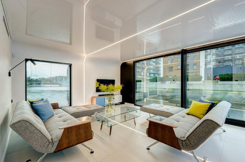 flohotel moduliniai namai pluduriuojantis namas išmanieji namai