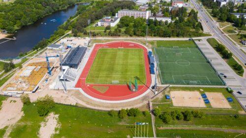 Jonavos centrinis stadionas.