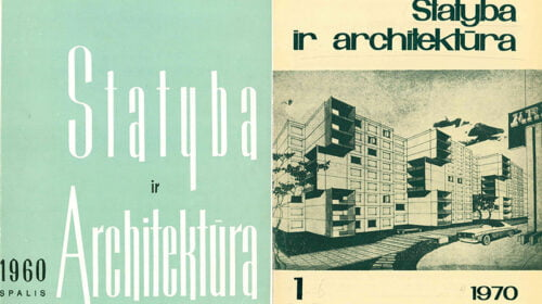 """""""Statyba ir architektūra"""" 2022 metais minės šimtmečio jubiliejų!"""