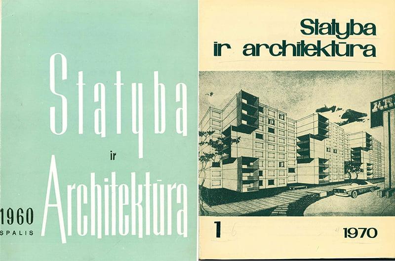 statyba ir architektura seni zurnalai