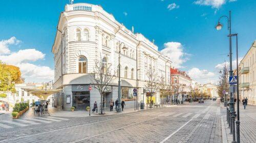 Buvęs Vilniaus centrinis paštas.
