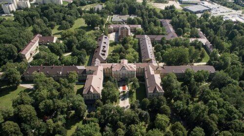 Vilniaus psichiatrinė ligoninė.