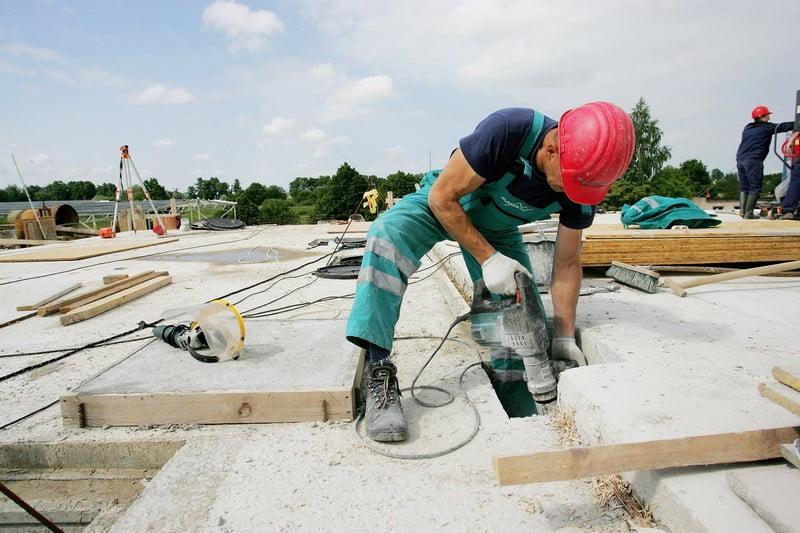 zilinskis ir co statybininkas graztas statybos