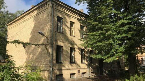 Buvusi Vilniaus infekcinė ligoninė Žvėryne.