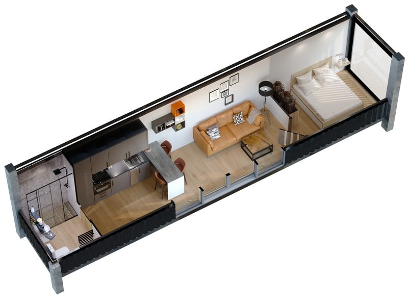 kt module moduliniai namai offgrid