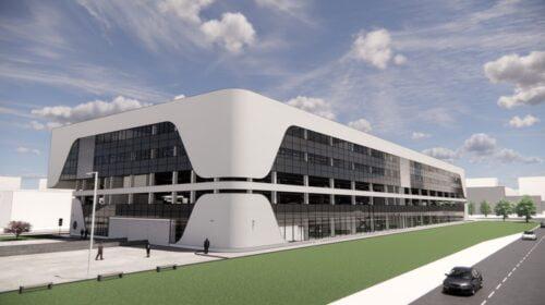 BOD Group inovacijų ir verslo centras (Projekto vizual.)