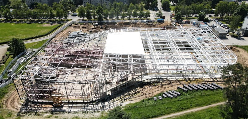 lazdynu baseinas statybos panevezio statybos trestas