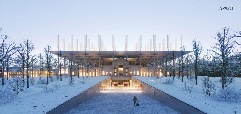 vilnius connect stotis architecture