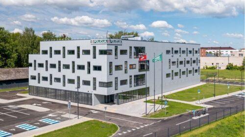 Baigiamas statyti Kauno apskrities VPK pastatas (E. Lasio nuotr.)