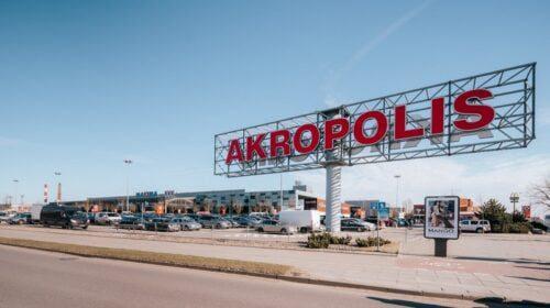 """Klaipėdos """"Akropolis""""."""