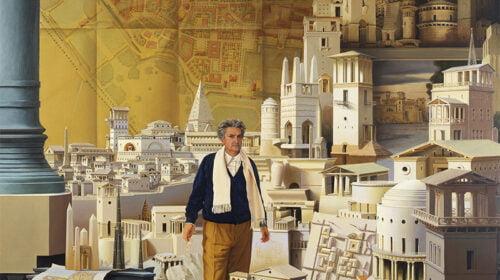 Carl Laubin. Architektas Leon Krier.