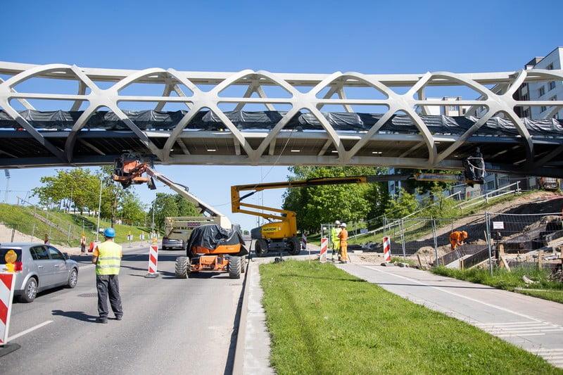 jonava pėsčiųjų tiltas kauno tiltai architektūros linija